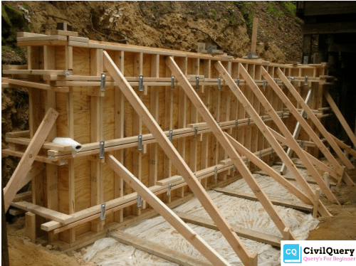 Types of Formwork | timber formwork