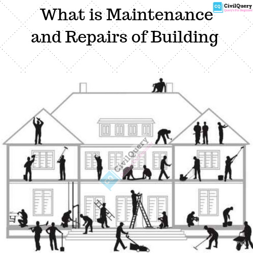 What is Maintenance and Repairs of Building