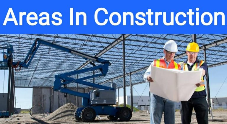 Areas In Construction