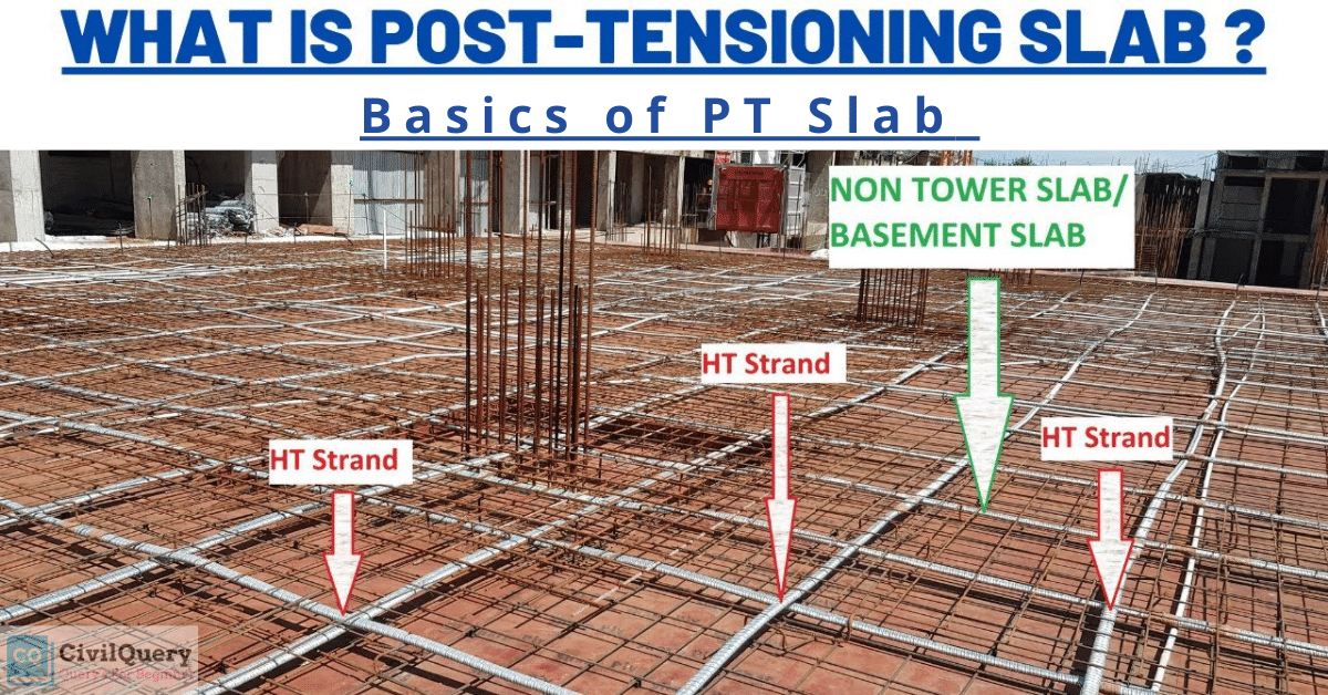 What is Post tension slab
