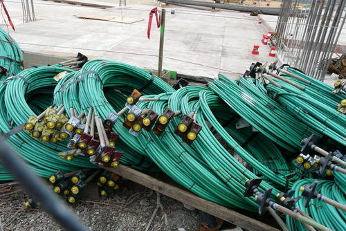 Post-tension cables